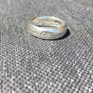Tiffany & Co. Ring Size 6